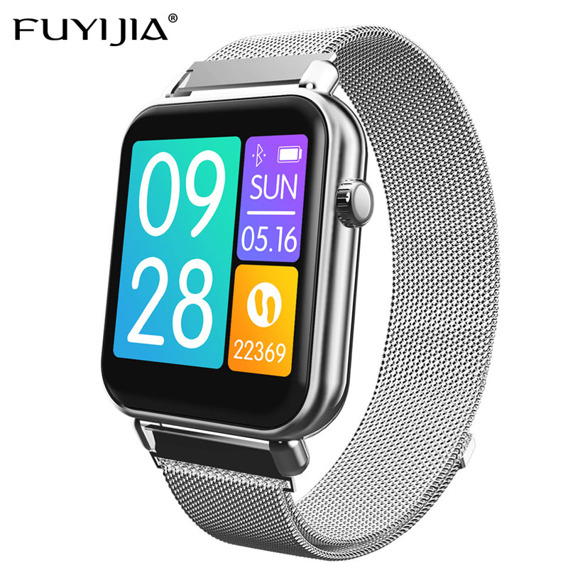 FUYIJIA Multifunction Sports Smart Watch Couple 2019 New Men Watch Woman Watches Waterproof Heart Rate Monitoring Reloj Mujer
