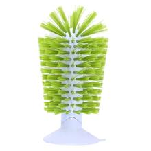 Bottle  Wash Brush 360 Degree Rotating Glass Ceal 093