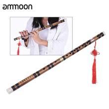 Flûte chinoise verticale en bambou, Instrument traditionnel de musique chromatique, fait à la main avec précision