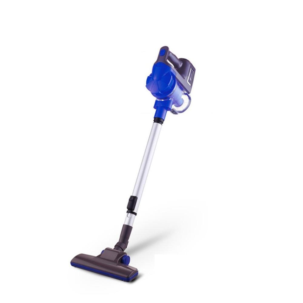 купить Low Noise Household Rod Vacuum Cleaner Portable Handheld Dust Collector Powerful Aspirator With Soft Brush EU Plug недорого