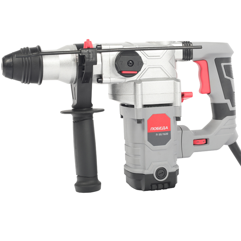 Electric hammer drill VICTORY P-30/1620 SDS + (Power 1620 W power cob 5 J anti-vibration system, tool holder S hammer drill electric redverg rd rh1500 power 1500 w drilling in concrete to 36mm антивибрационная system