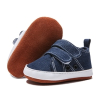 Newborn Baby Boys Shoes Toddler Fashion Canvas Shoes Sneakers Baby Boy Soft Sole Crib Shoes 0 18 Months