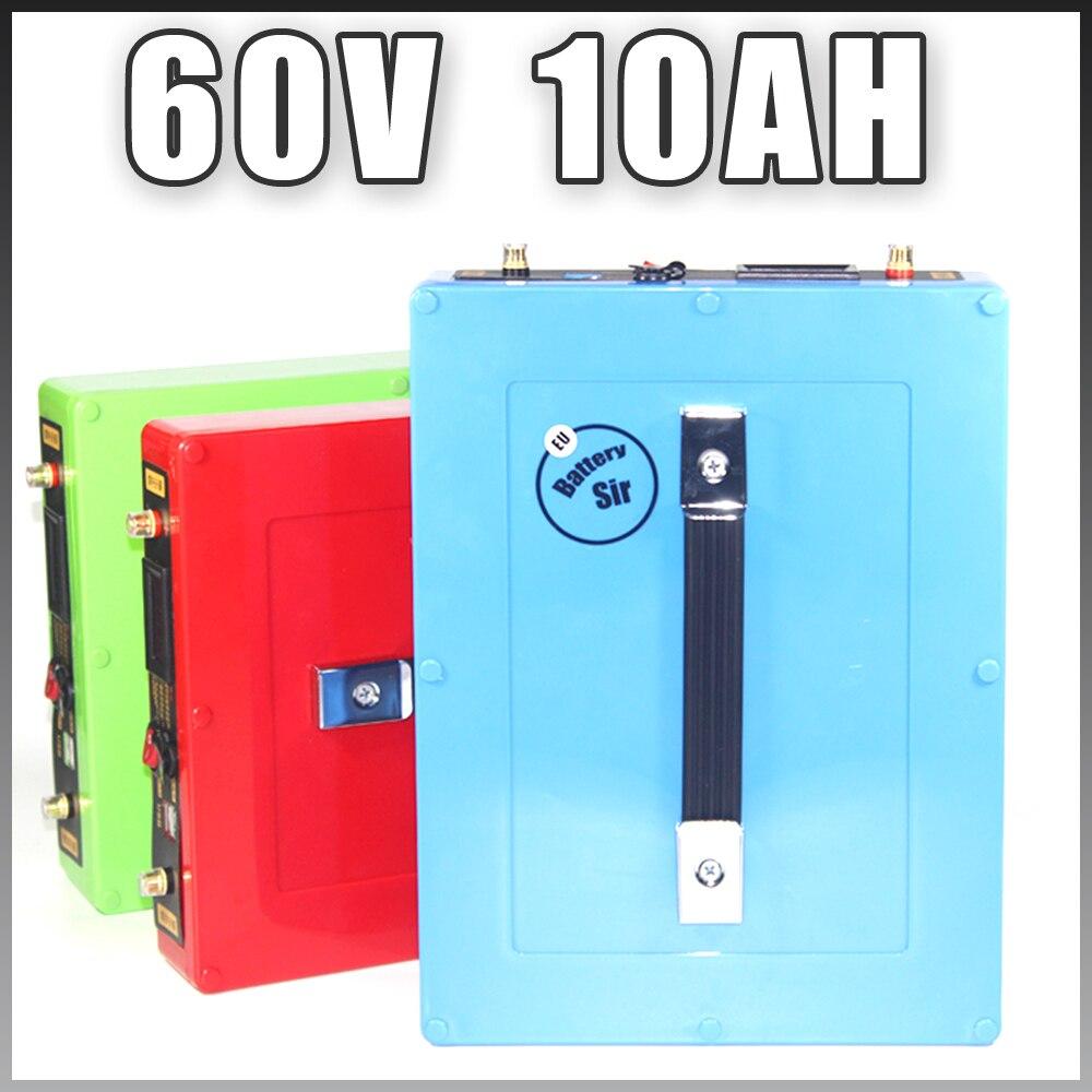 Batterie au Lithium-ion de moto électrique 60 V batterie Lithium-ion 1000 W avec boîtier étanche Port USB 5 V