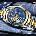 TEVISE автоматические часы Tourbillon механические часы мужские часы деловые наручные часы Мужские часы с автоматическим заводом Relogio Masculino