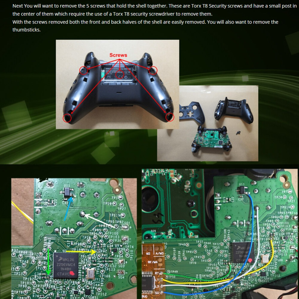 for XBox One Controller Rapid Fire Game Controller Rapid
