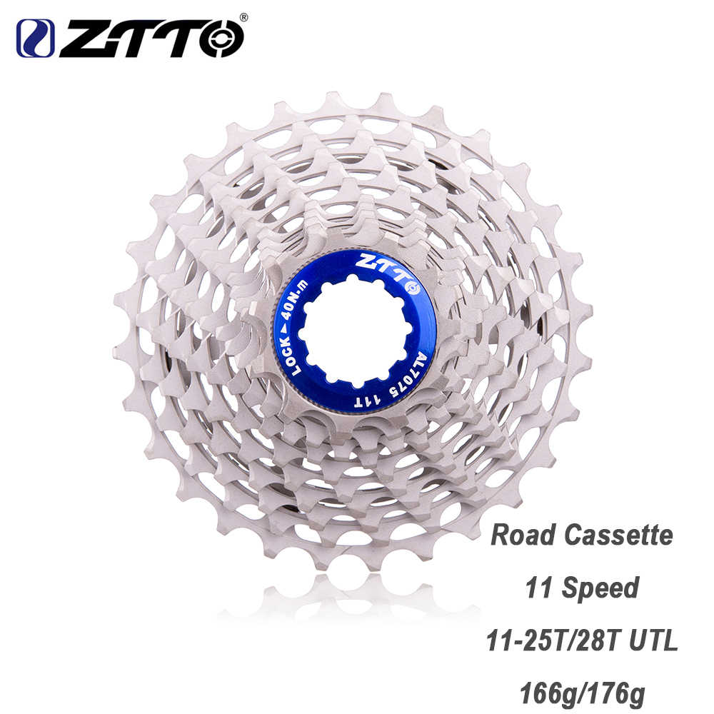 ZTTO Ultimate 11 Speed 28T ULT 25T Cassette 11Speed Freewheel  Ultraight Bicycle Cassette Durable Sprocket DA 9100 For Road Bike