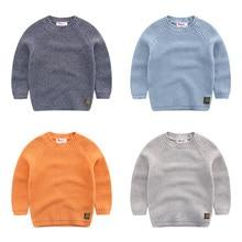 Дети 2016 мальчиков вязать свитер нить Корейские Новые Дети чистый осень ребенка свитер
