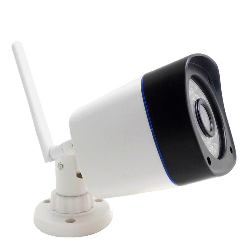 Câmera ip wi-fi 720 p ao ar livre sem fio à prova d' água à prova de intempéries de segurança cctv sistema de apoio micro sd registro ipcam wi-fi cam para casa