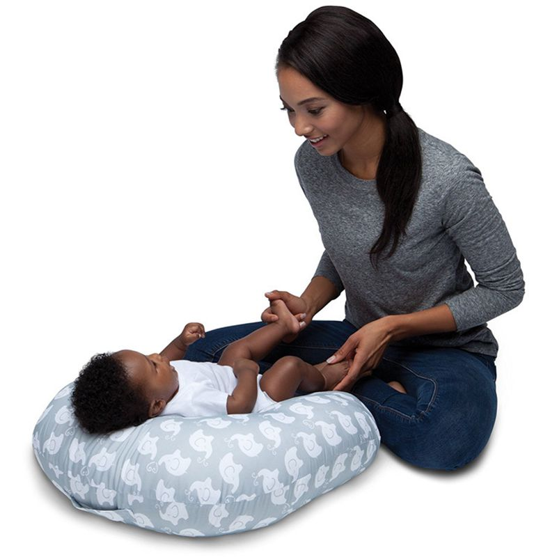 купить Multifunction Easy Washing Nursing Pillow Baby Breastfeeding Head Protection Adjustable Mother Feeding Infant Boppy Pillows по цене 1820.25 рублей