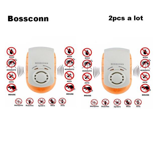 2 pz/lotto Multi-Purpose Ultrasonico Elettronico Della Zanzara Assassino Resping