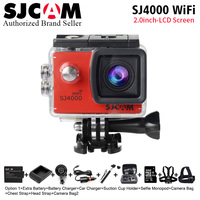 Newest SJ4000 Wifi Original SJCAM SJ4000 2 0 LCD Screen Action Camera Upgrade SJ CAM 4000
