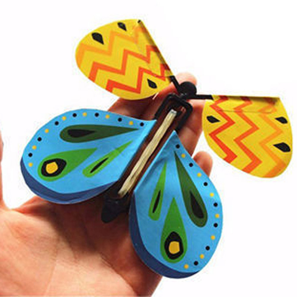 Children Educational Toys Hot Sale High Quality Flying Butterfly Magic Transform Cocoon Into A Flying Butterfly Trick Prop Toy