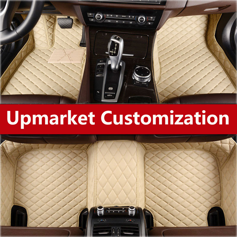 NEW Car floor mats for BMW Z4 i3 i8 M2 M3 M4 M5 M6 X1 X3 X4 X5 X5M X6M 1 3 4 5 7 Series Left hand drive Two layers of in Floor Mats from Automobiles Motorcycles