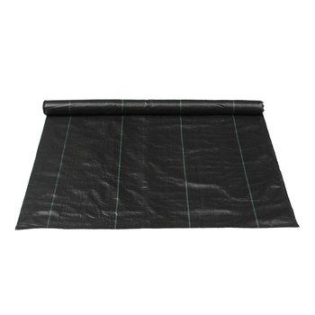 Large 1M x 14M PP Weeds Control Fabric Mulching Garden Ground Cover Greenhouse Orchard Membrane Landscape Shelter Black