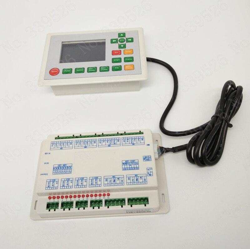 Купить с кэшбэком Color display co2 laser controller system RDLC6442G For laser cutting machine