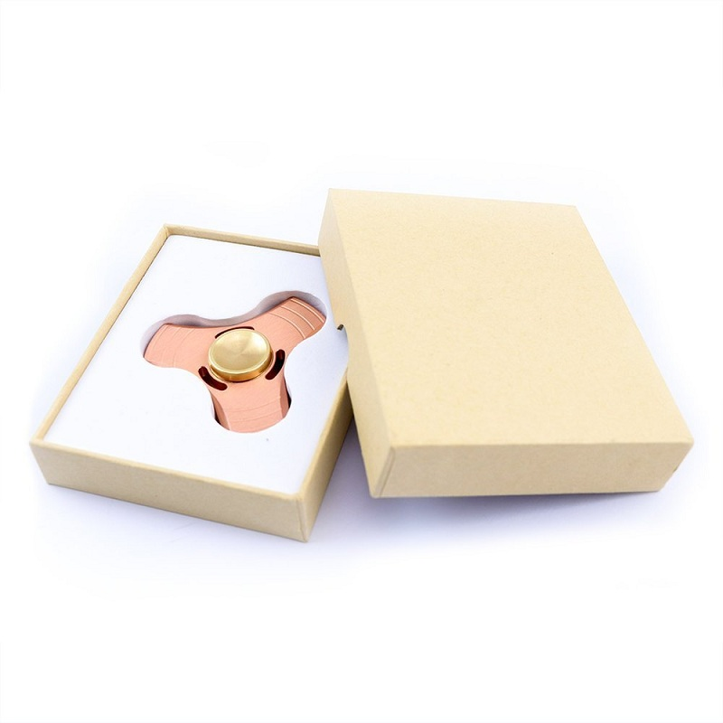 New Fidget Hand Spinner Toys Brass Material EDC Focusing Stress Relif Desk Toy For Children Adults Attention Keep Hands Busy edc fidget toys 3 gears hand spinner brass metal fidget finger spinner for adhd adults children educational toys hobbies