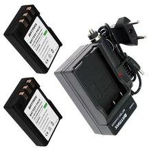 Kit para Nikon 2 Pcs 1800 Mah En-el9 El9a En-el9a EN Câmera Li-ion Bateria & Carregador D40 D60 D40x D5000 D3000