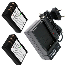 2Pcs 1800mAh EN-EL9 EN EL9 EN-EL9a EN EL9a EL9a Camera Li-ion Battery&Charger Kit for Nikon EN-EL9a D40 D60 D40X D5000 D3000