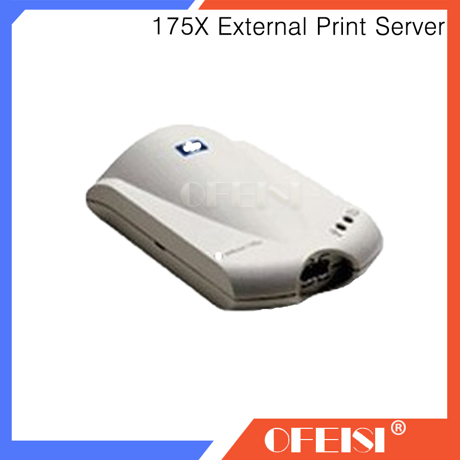 Free shipping Original 95% New Jetdirect 175x Fast Ethernet Print Server ( J6035D ) J6035D J6035A Jetdirect Card, Printer parts