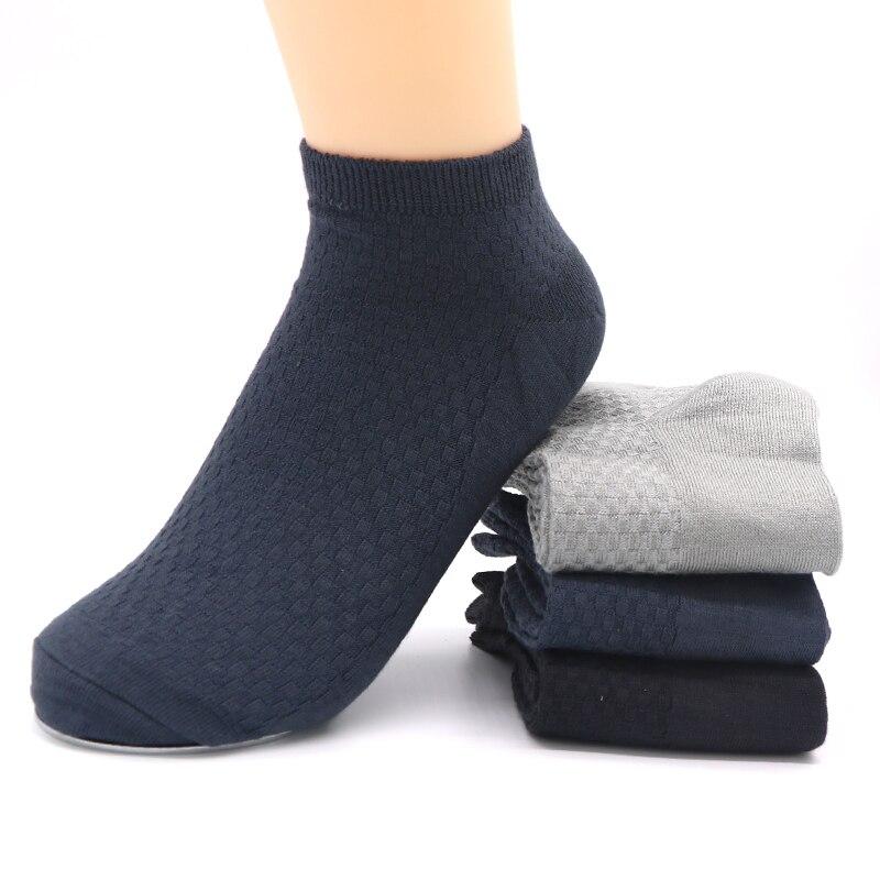 5 Pairs Bussiness Calcetines de Vestir Para Hombre