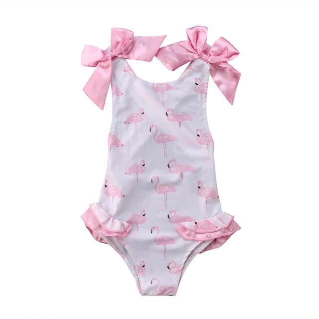 c3427331fac placeholder Verano niños bebé niña Bikini conjunto ropa de baño traje de  baño ropa de playa Bowknot