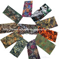 Série folha de Secagem rápida Militar Metade Do Rosto Fask Hunting Tactical Camouflage Scarf Ciclismo Ao Ar Livre Rosto Lenços Bandana Headband