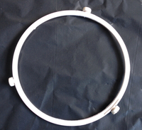 Microwave Oven Parts Glass Plate Support Oven Bracket Roller Plastic Ring