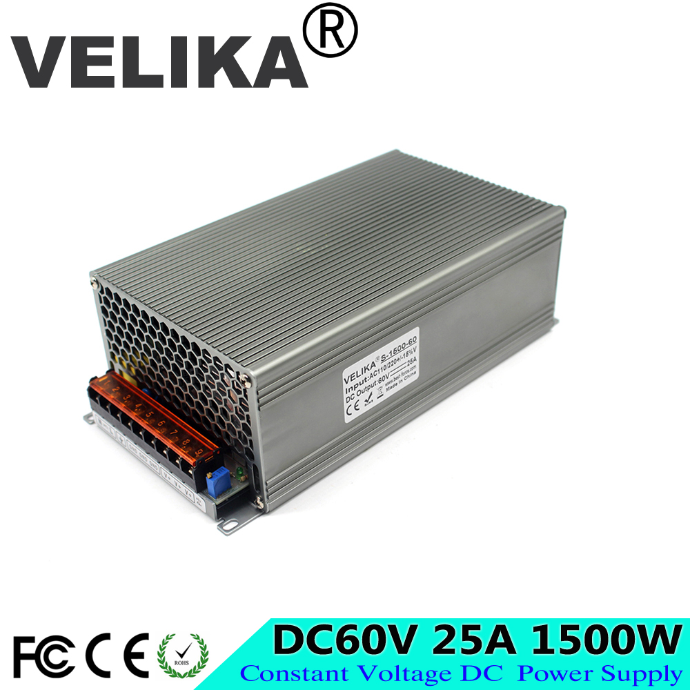 Universal Ac Dc 60v Power Supply Switching 25a 1500w