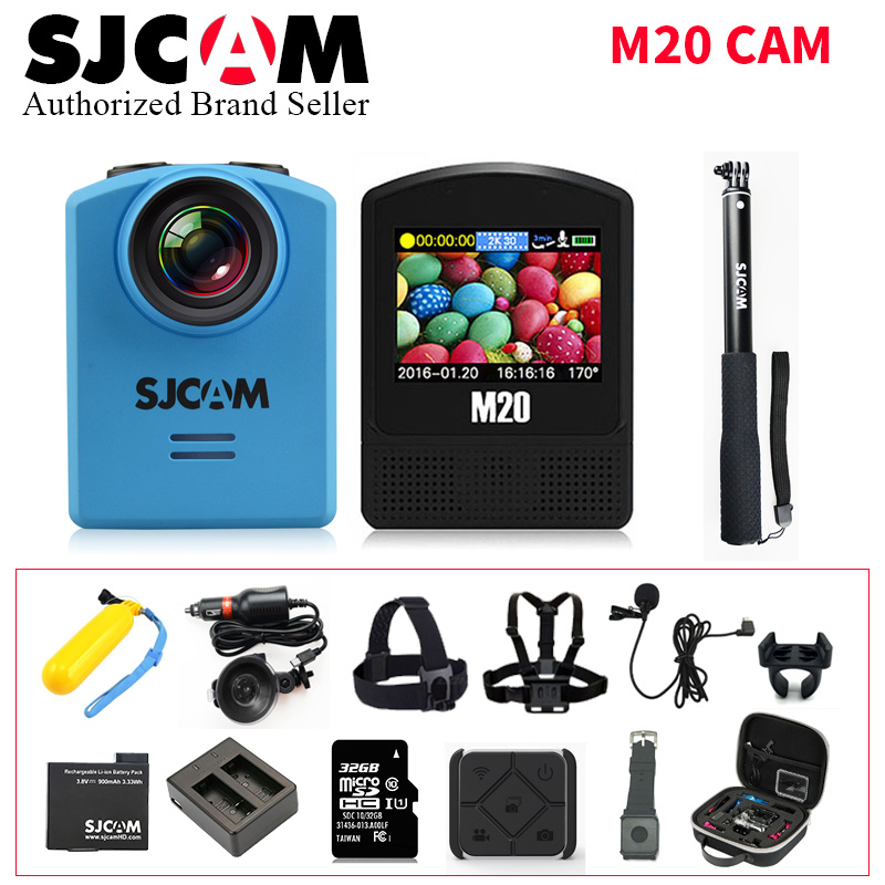 Original SJCAM M20 Waterproof DV SJ Cam Underwater 4K Wifi Gyro Mini Camcorder 2160P Full HD 16MP Action Sport Camera vs go pro 2017 arrival original eken action camera h9 h9r 4k sport camera with remote hd wifi 1080p 30fps go waterproof pro actoin cam