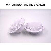 5.25inch 2Way 160W Marine Stereo Boat Waterproof Speaker Bluetooth Motorcycle Outdoor Audio Sound System For SPA UTV ATV Golf