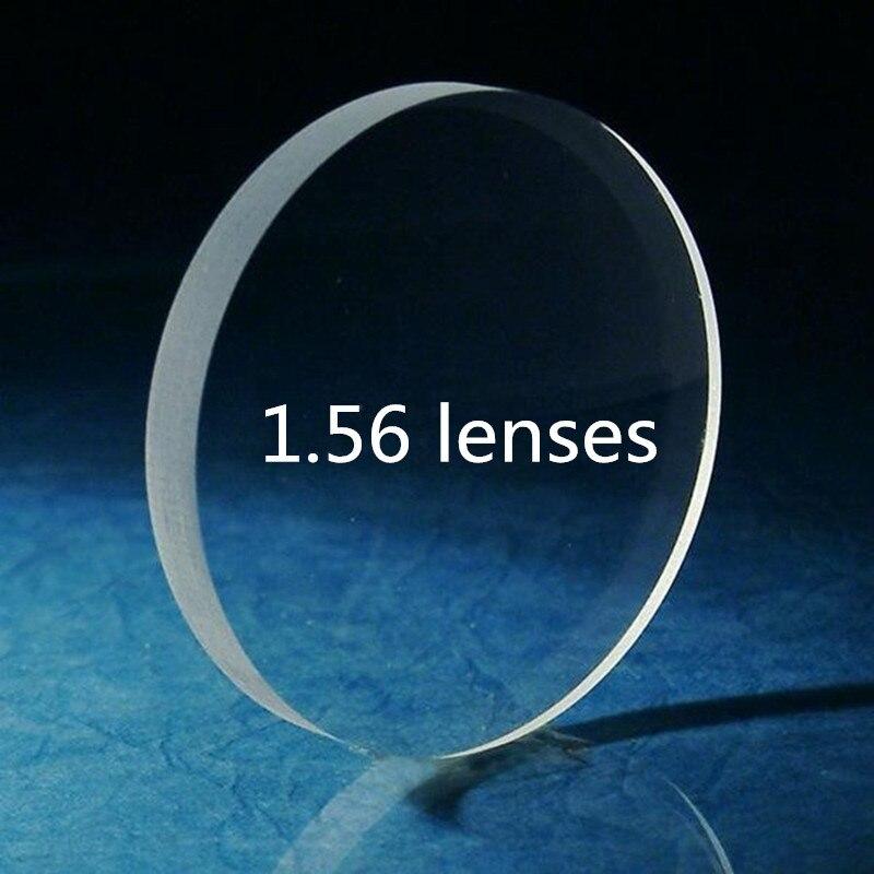 Gläser Linsen Index 1,56 Objektiv rezept optische linsen myopie presbyopie zu auge klar Objektiv CR39 computer Brillen lentes