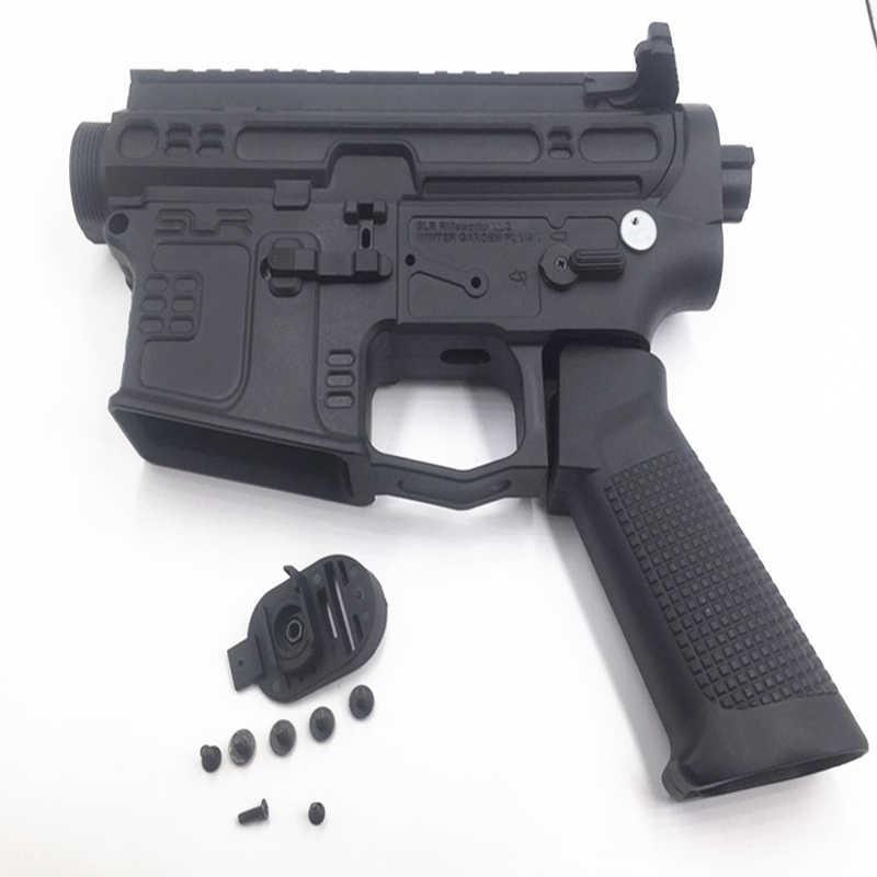 AK Uncle Jingji SLR Gel blaster Nylon receiver Upgrade accessories No  2  gearbox AR M4 gearbox