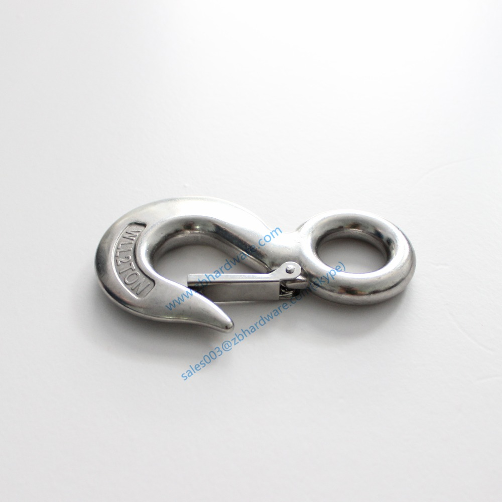 2Ton safety working load Stainless Steel 320 Eye Sling Hook with ...