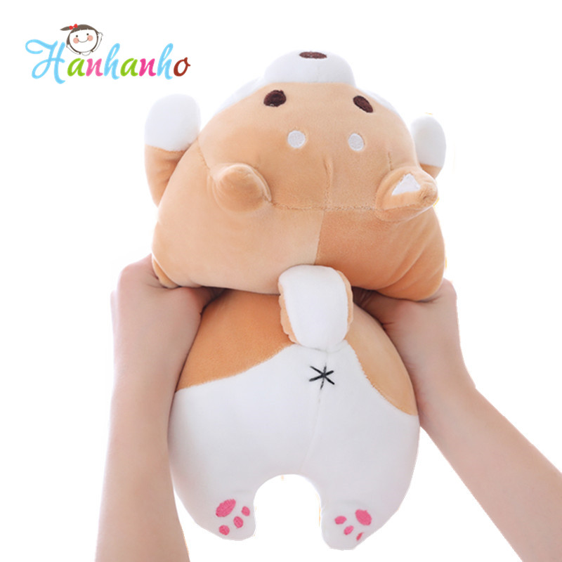 Lovely Fat Shiba Inu Soft Doll Kids Puppy High Quality Plush Toy Children Birthday Gift Stuffed Animal Extremely Soft Baby toys stuffed animal 120cm simulation giraffe plush toy doll high quality gift present w1161