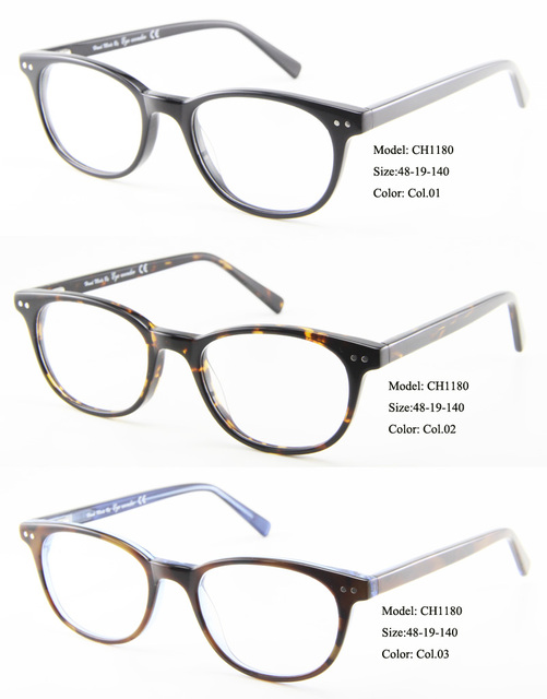 76e70e24c76 Eye wonder Wholesale Men s and Women s Vintage Acetate Glasses Optical  Frames with Clear Lens in Demi