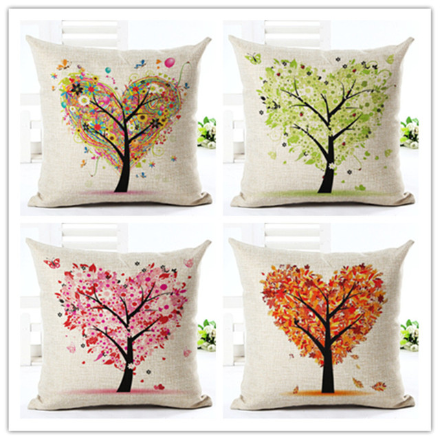 Heart Tree Pillow