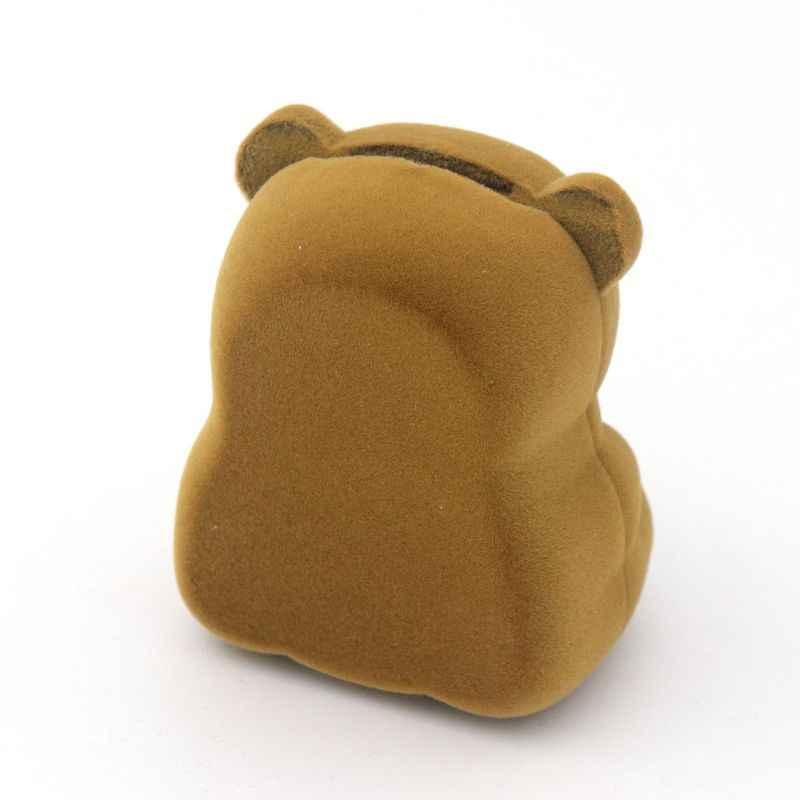 1 قطعة المخملية الدب حامل ل أقراط حلقة قلادة مجوهرات تغليف هدية صندوق الزفاف المشاركة عرض حامل بالجملة