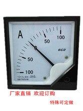 DC +-100A 100A-0-100A Analogico Pannello Amperometro AMP Ampere di Corrente Tester del Calibro 6C2 Amperimetro Amperometro