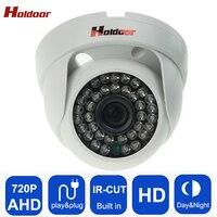 AHD 720P HD Plastic Shell Mini Dome Analog AHD CCTV Camera Indoor IR CUT Night Vision