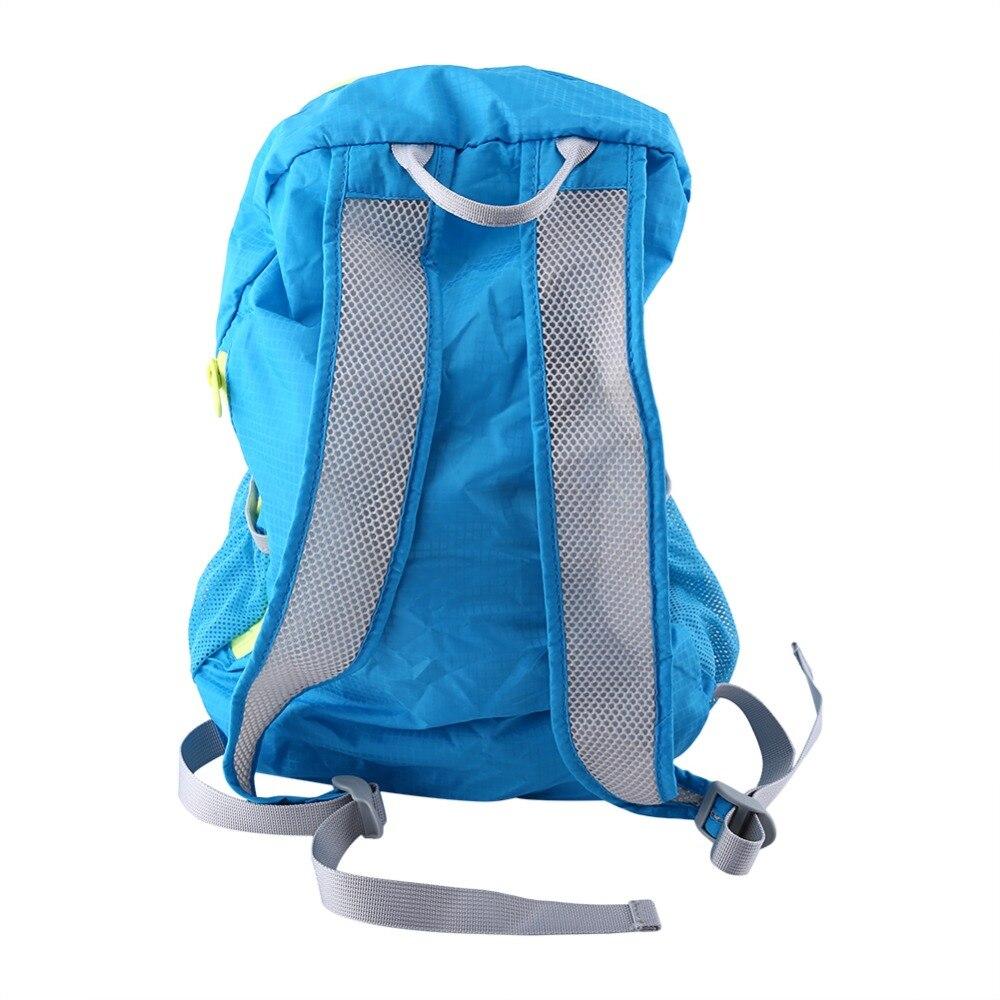 3 Colores Unisex Portable Plegable 22L Capacidad A Prueba de agua Bolsas de Crem