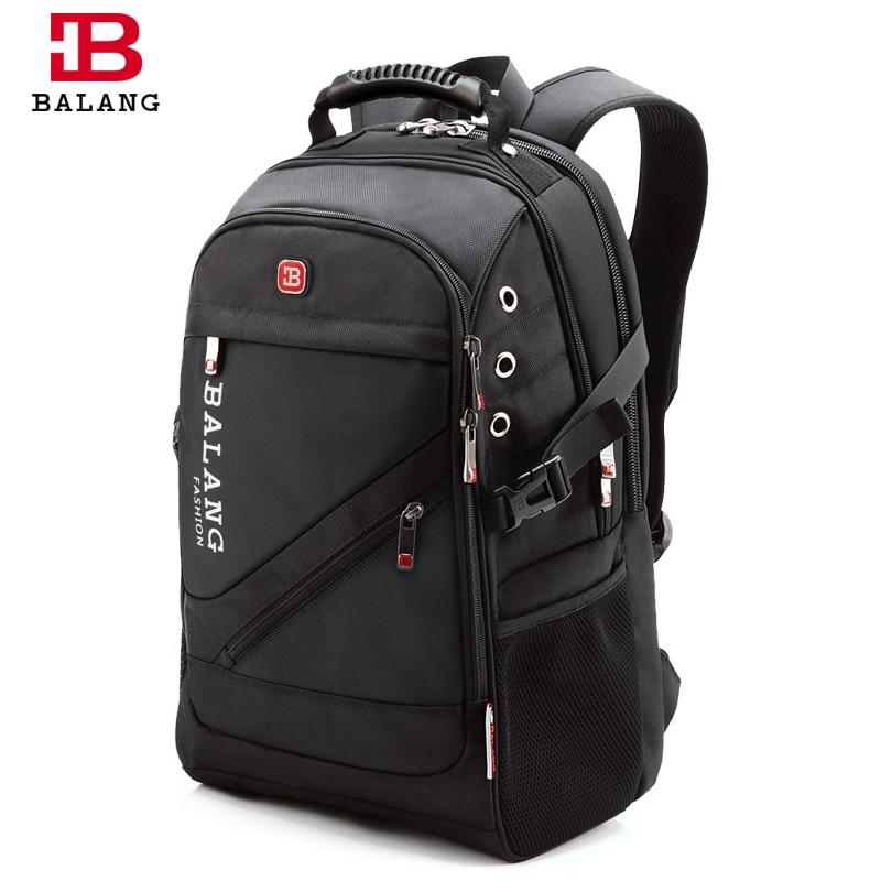 Image 4 - BaLang Brand Design Man Laptop Backpack Mens Travel Bag  Waterproof Shoulder Bags for Computer School Nylon Bags Travel  Backpacklaptop backpacks menmen laptop backpackbackpack brand -