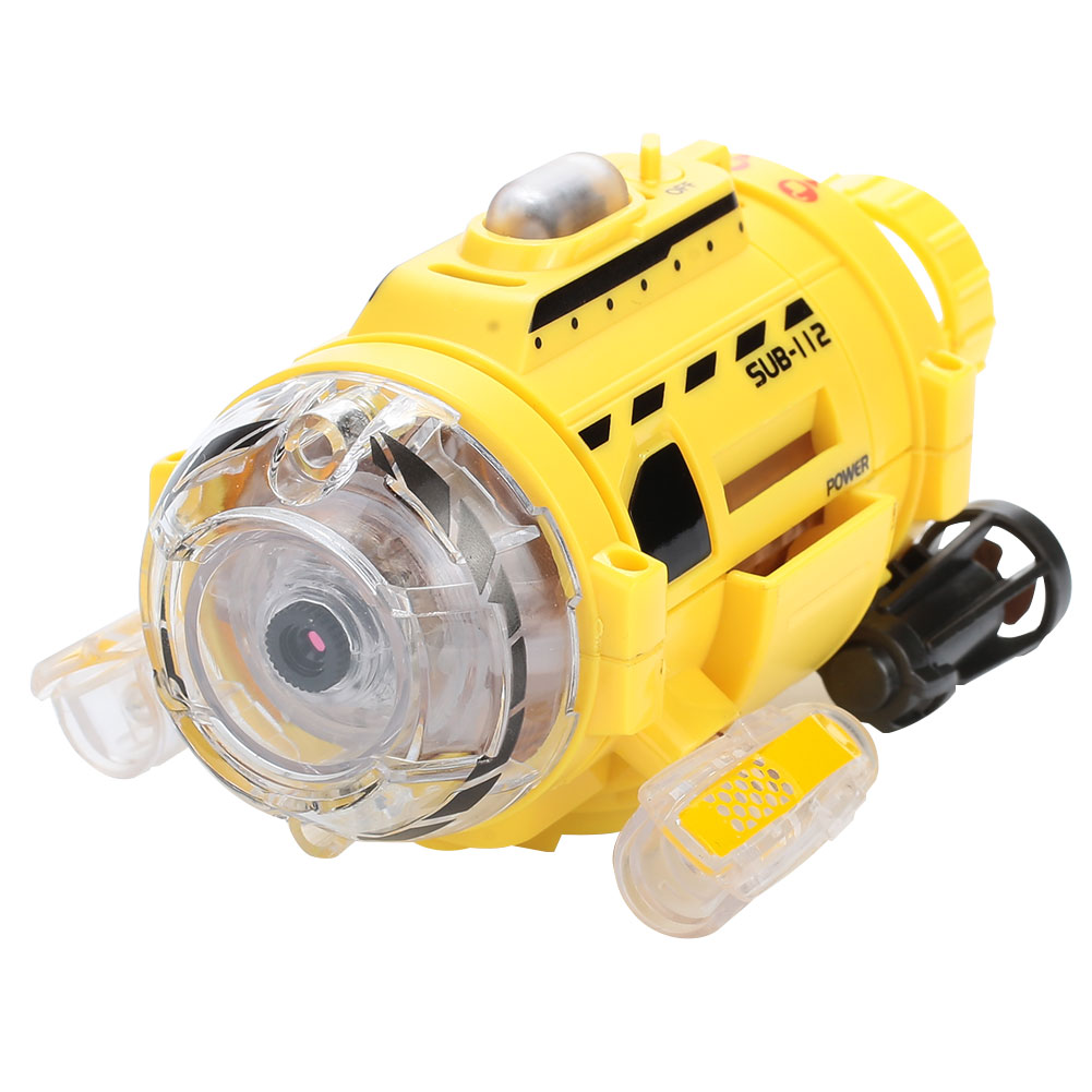 Remote Control Submarine Mini Camera Fish Tank Submarines Boat 300000 Pixels RC 3CH Education Learning Tools