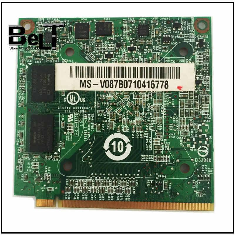 سلسلة كمبيوتر محمول GeForce 8400MGS 7520 M GS MXM II DDR2 7520 MB VGA اختبار بطاقة الرسومات والفيديو لشركة أيسر أسباير 7720G 7720 8400 256G