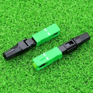 Image 3 - KELUSHI 100pcs SC APC fast connector / fiber optic fast connector / fiber cable quick connector Tools