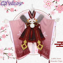 Little Hero Himiko Toga My Academia Cosplay Costume Japanese Kimono Anime Uniforms Costumes Woman Dress