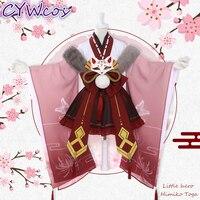 Little Hero Himiko Toga My Hero Academia Cosplay Costume Japanese Kimono Anime Cosplay Uniforms Costumes Woman Dress