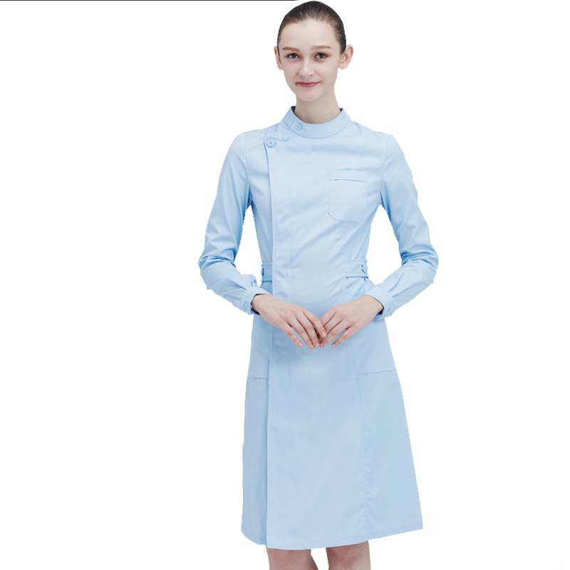 Ladies Medical Robe Medical Lab Coat Hospital Doctor Slim Multicolour Nurse Uniform Medical Gown Overalls Uniforms Women