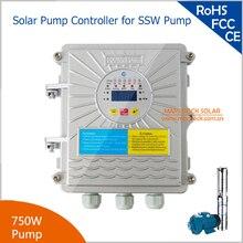 750 Вт солнечный насос контроллер для DC48V солнечный насос MPPT Функция постоянного тока в переменный для SSW солнечный насос
