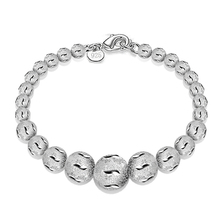 Female Bracelet Women Silver Jewelry 925 Beads Charm Fine Party Accessories Girls Gifts