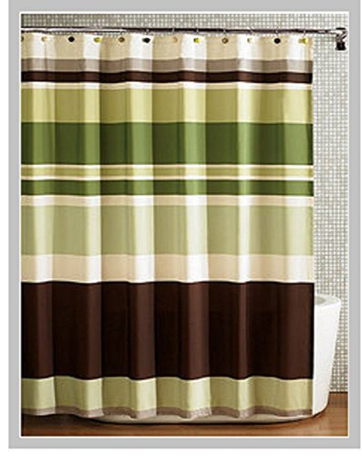 Fabric Shower Curtainmulti Color Printed Striped Green Coffee In Curtains From Home Garden On Aliexpress